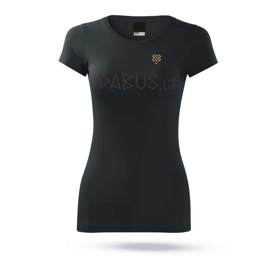 """Marškinėliai moteriški """"Audimo raštai minimalistinis 1"""""""